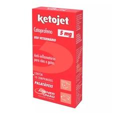 Ketojet 5mg Anti-inflamatório Agener União C/10 Comprimidos
