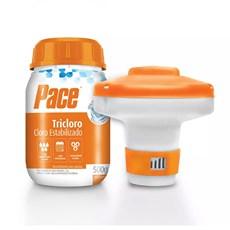 Kit Cloro Pace Pequenas Piscinas - 500g