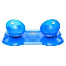 Kit Jogo Americano Osso Grande Azul - Truqys Pet