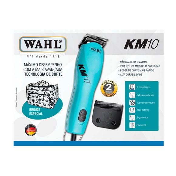 Kit Máquina de Tosa Profissional KM10 om Bolsa de Patinhas - Wahl