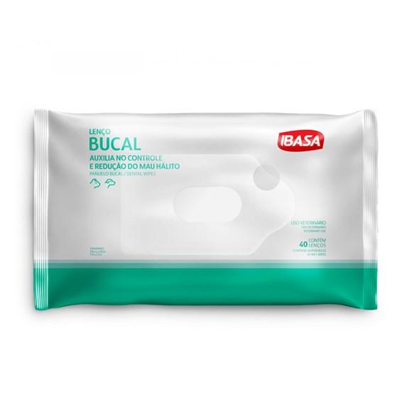 Lenço Bucal IbasaC/40 Unidades