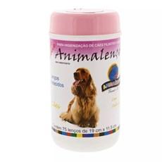 Lenços Umedecidos Cães Fêmeas Animalenço C/75 Unidades