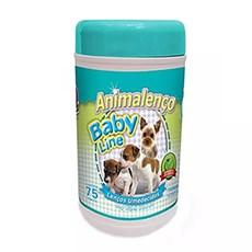 Lenços Umedecidos  Cães Filhotes Animalenço C/75 Unidades