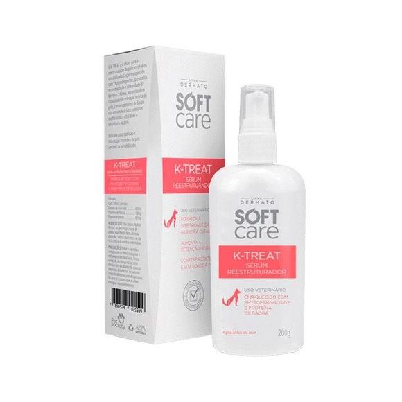 Locao Serum Soft Care K-treat Para Caes E Gatos 200g