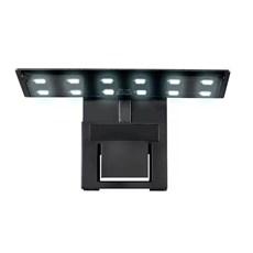 Luminária de LED Soma Preta X3 5W Branco e Azul - 110V