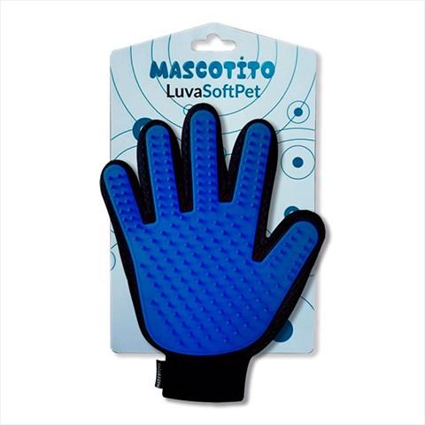 Luva Soft Pet  Azul - Mascotito