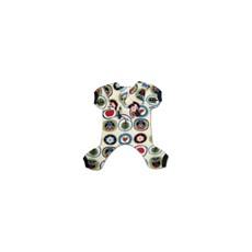 Macacão para Cães Estampa de Coruja - Azul - Emporium Distripet