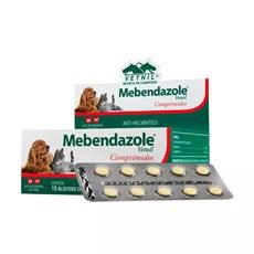 Mebendazole Para Cães e Gatos Vetnil Blister C/10 Comprimidos