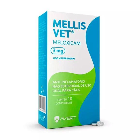 Mellis Vet 3mg Avert C/10 Comprimidos