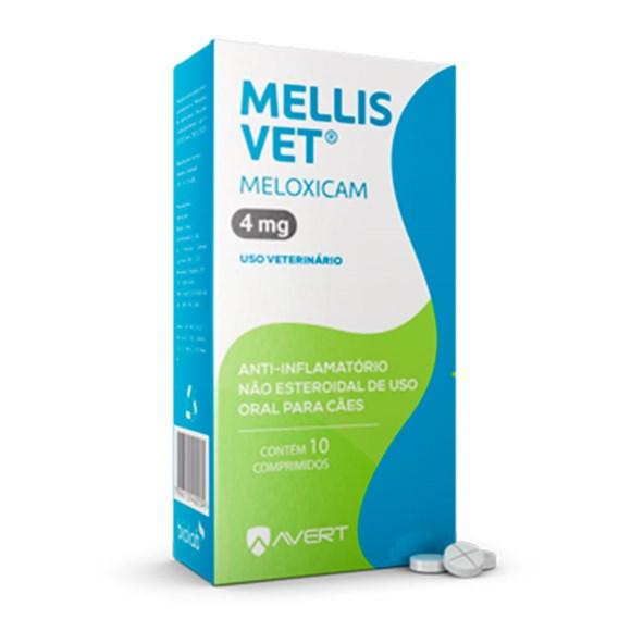 Mellis Vet 4mg Avert C/10 Comprimidos