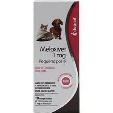 Meloxivet 1mg C/ 10 Comprimidos