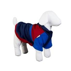 Moletom Soft Para Cães Azul E Vermelho Pickorruchos