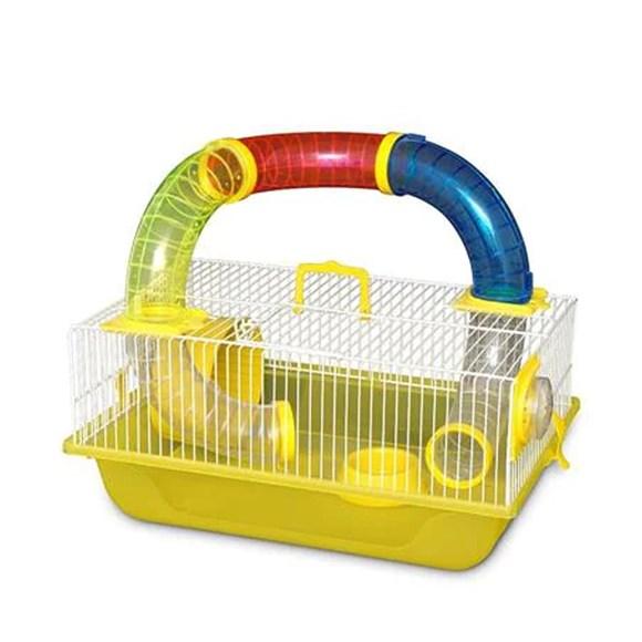 Moradia Hamster Mouse Fun Amarelo Bragança GR160