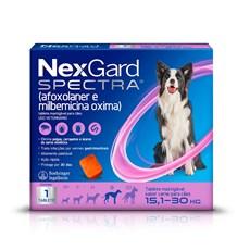 NexGard Spectra Antipulgas e Carrapatos Para Cães de 15,1 a 30kg