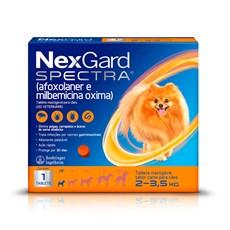 NexGard Spectra Antipulgas e Carrapatos Para Cães de 2 a 3,5kg