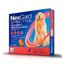 NexGard Spectra Antipulgas e Carrapatos Para Cães de 30,1 a 60kg