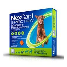 NexGard Spectra Antipulgas e Carrapatos Para Cães de 7,6 a 15kg