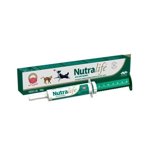 Nutralife Suplemento Vitaminico Para Caes E Gatos 14g