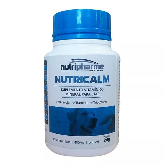 Nutricalm Suplemento P/ Caes Agitados C/ 30 Comprimidos
