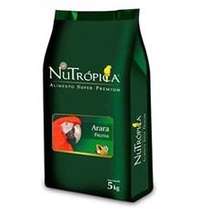 Nutrópica Ração Natural Para Araras Com Frutas - 5kg