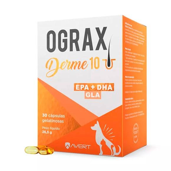 Ograx Derme 10 Suplemento Avert C/30 Cápsulas