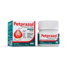 Omeprazol para Cães e Gatos Petprazol Vetnil - 10mg  - 30 comprimidos