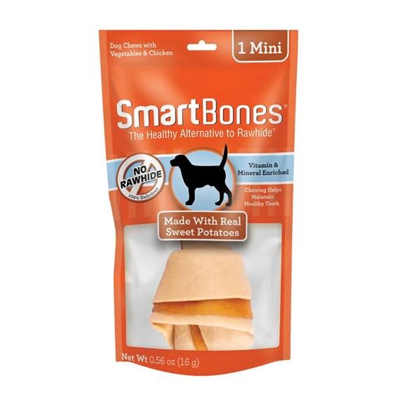 Ossinho Para Cães Smartbones Sweet Potato Mini