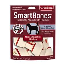 Ossinhos Para Cães Smartbones Chicken Medium - 4 Unidades