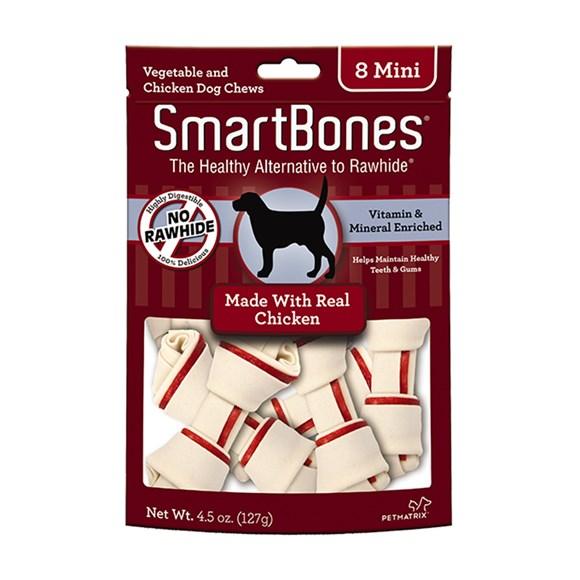 Ossinhos Para Cães Smartbones Chicken Mini – 8 Unidades