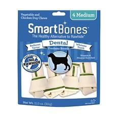 Ossinhos Para Cães Smartbones Dental Medium - 4 Unidades