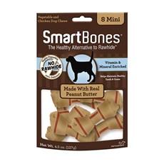 Ossinhos Para Cães Smartbones Peanut Butter Mini - 8 Unidades