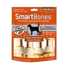 Ossinhos Para Cães Smartbones Sweet Potato Medium - 4 Unidades