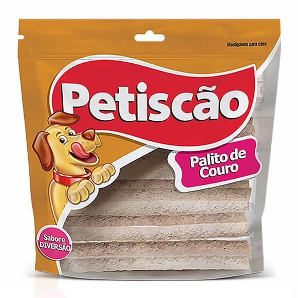 Osso Cães Petiscão Palito de Couro 4mm - 500g