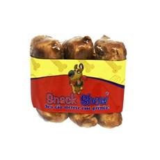 Osso Cães Snack Show Prensado Bacon Shriink C/03 Unidades