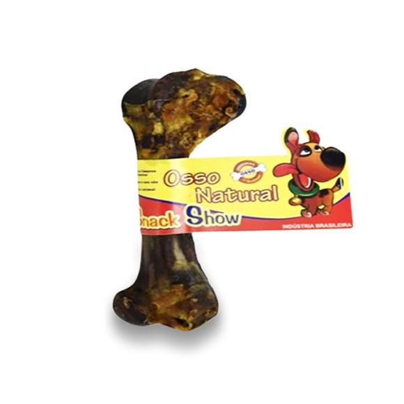 Osso Cães Snack Show Suíno Defumado Natural C/01 Unidade