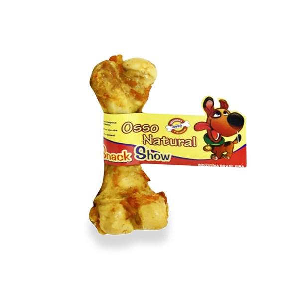 Osso Cães Snack Show Suíno Natural C/01 Unidade