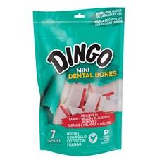 Osso Dingo Cães Premium Dental Bone Mini 7 PK