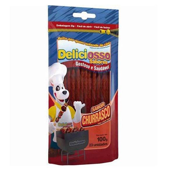 Ossos cães deliciosso churrasco - 100g