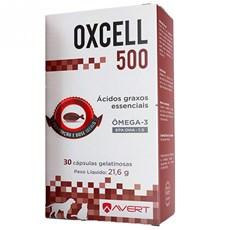 Oxcell Suplemento Para Caes E Gatos C/ 30 Capsulas 500mg