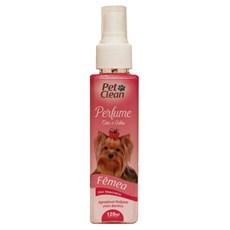 Perfume Para Cães e Gatos Fêmea Pet Clean – 120mL