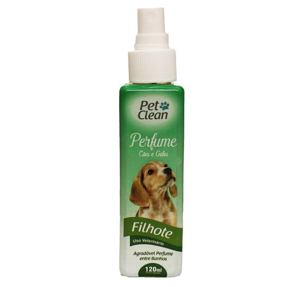 Perfume Para Cães e Gatos Filhotes Pet Clean – 120mL