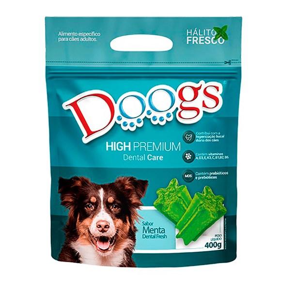 Petisco Cães Snacks Doogs Dental Fresh - 400g