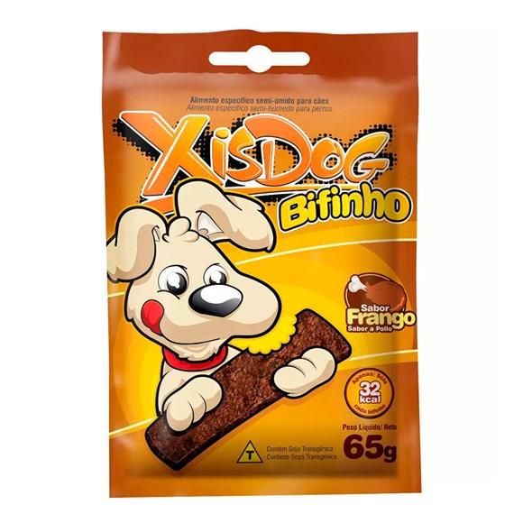 Petisco Cães XisDog Bifinho Frango - 65g
