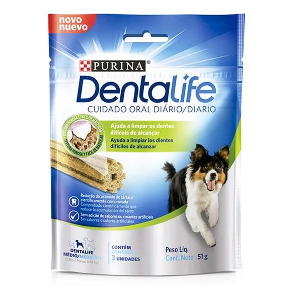 Petisco Dentalife Cães Raças Médias - 51g