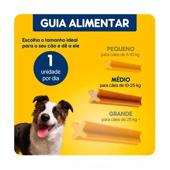 Petisco Dentastix Pedigree Cães Raças Médias - 180g