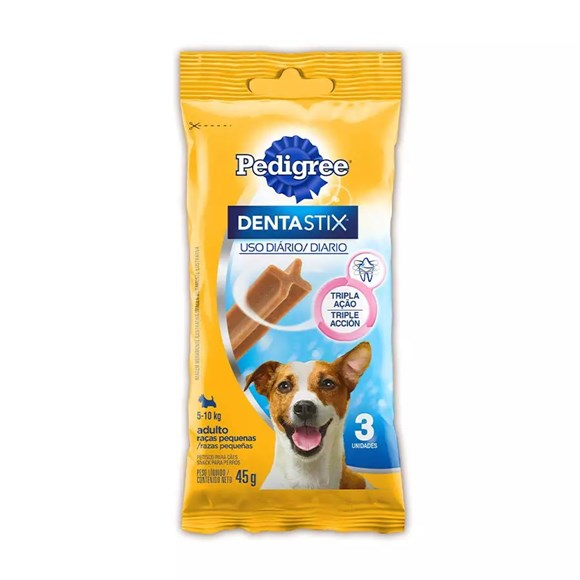 Petisco Dentastix Pedigree Cães Raças Pequenas - 45g