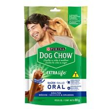 Petisco Dog Chow Adultos Raças Médias e Grandes - 80g