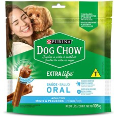 Petisco Dog Chow Adultos Raças Pequenas - 105g