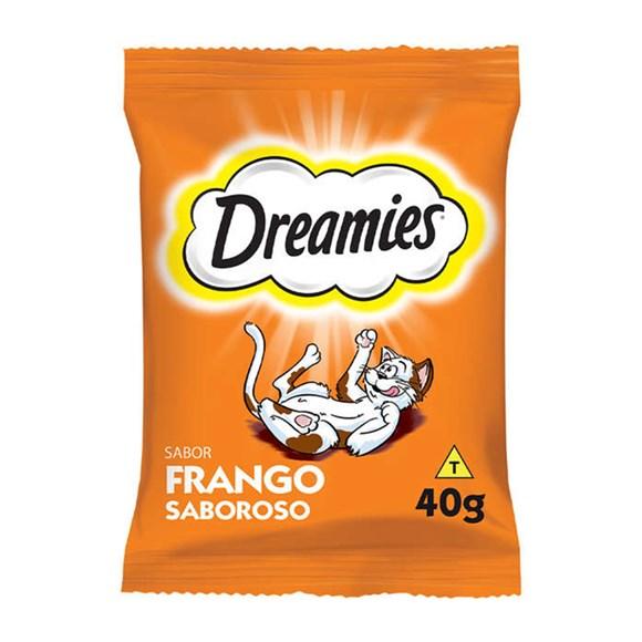 Petisco Dreamies Gatos Adultos Frango - 40g