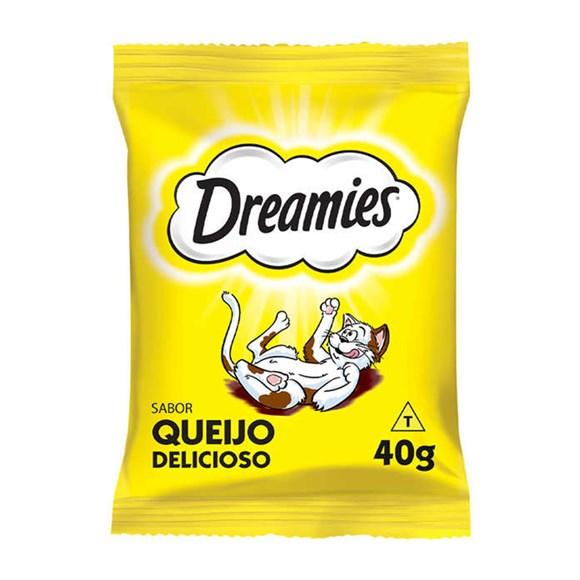 Petisco Dreamies Gatos Adultos Queijo - 40g